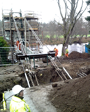 Civil and structural engineering - providing the design and layout of new roads and a sustainable urban drainage system (SUDS) for housing developments